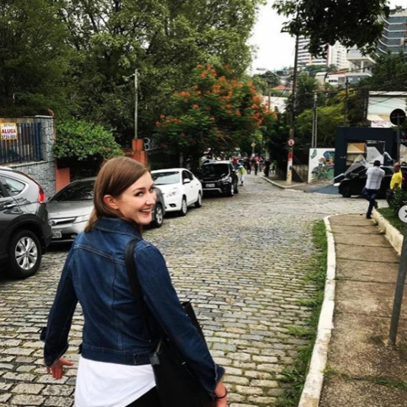 287 - Uma gringa fala sobre a sua experiência no Brasil 😎✌