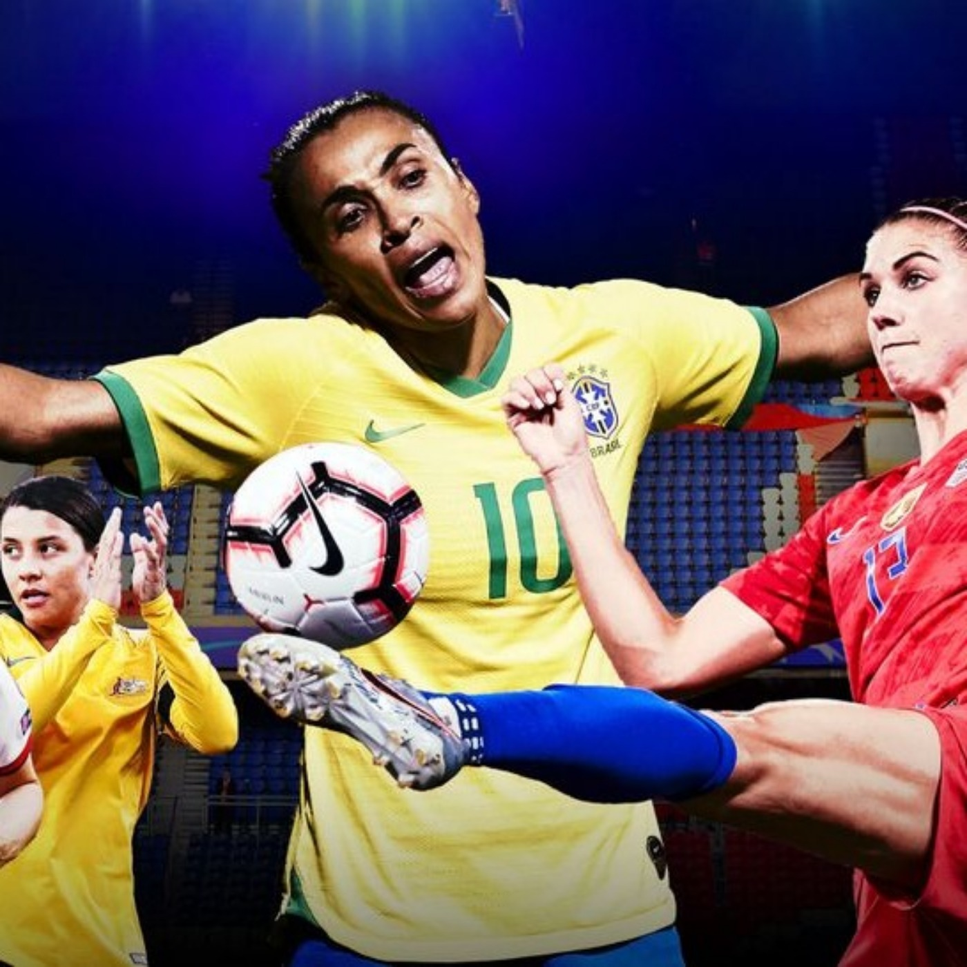 357 - Com a licença... As mulheres. Women's World Cup!