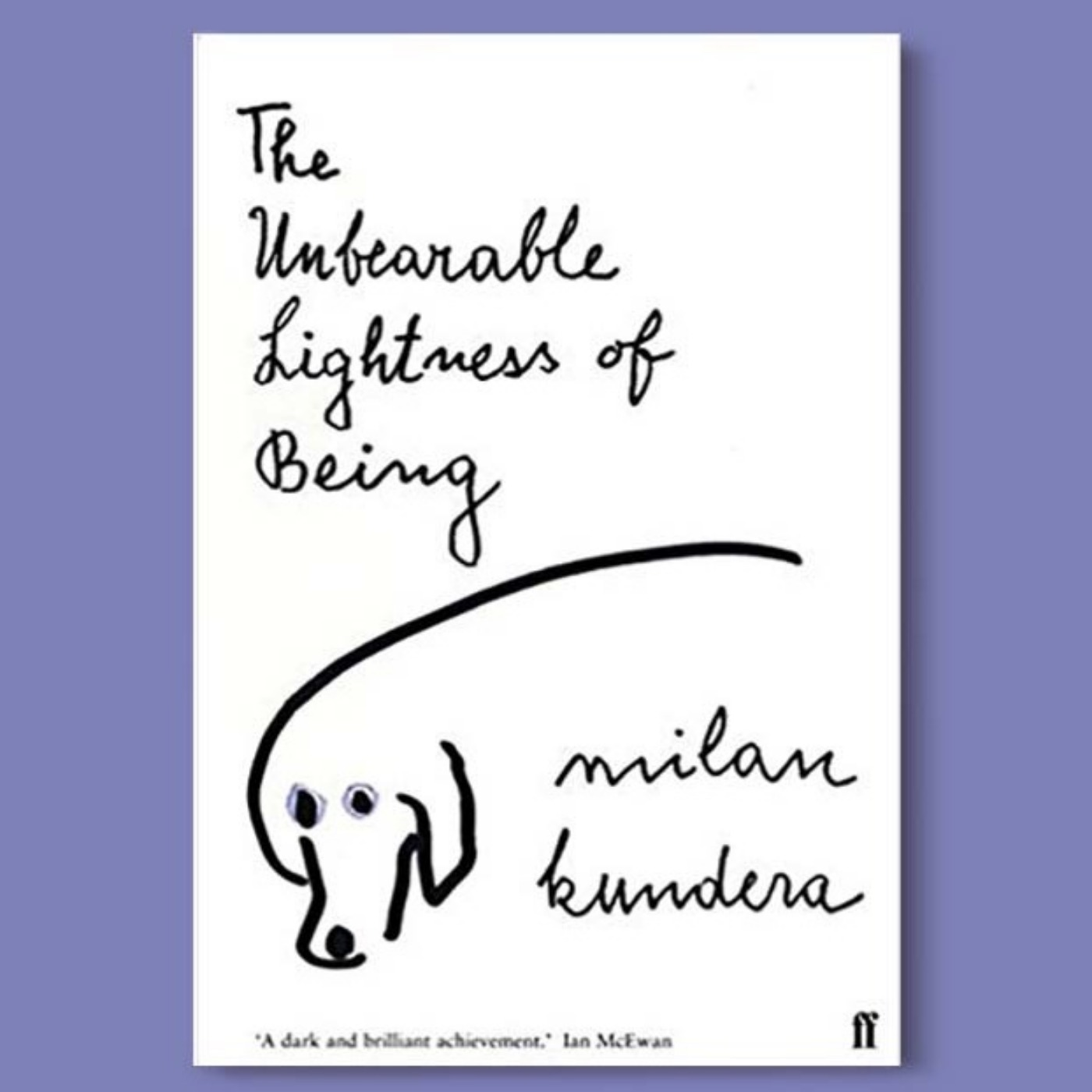 390 - The Unbearable Lightness Of Being - O livro que a Alexia está lendo 💁