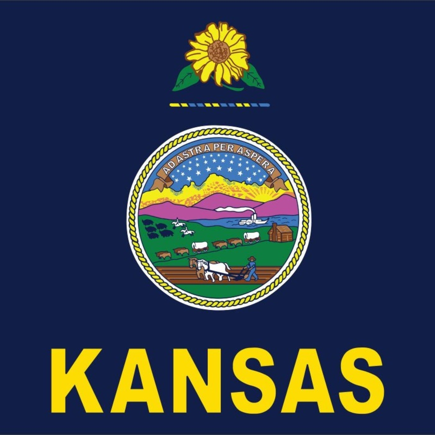 609 - Os Estados Unidos da América apresentam: Fun Facts of Kansas!