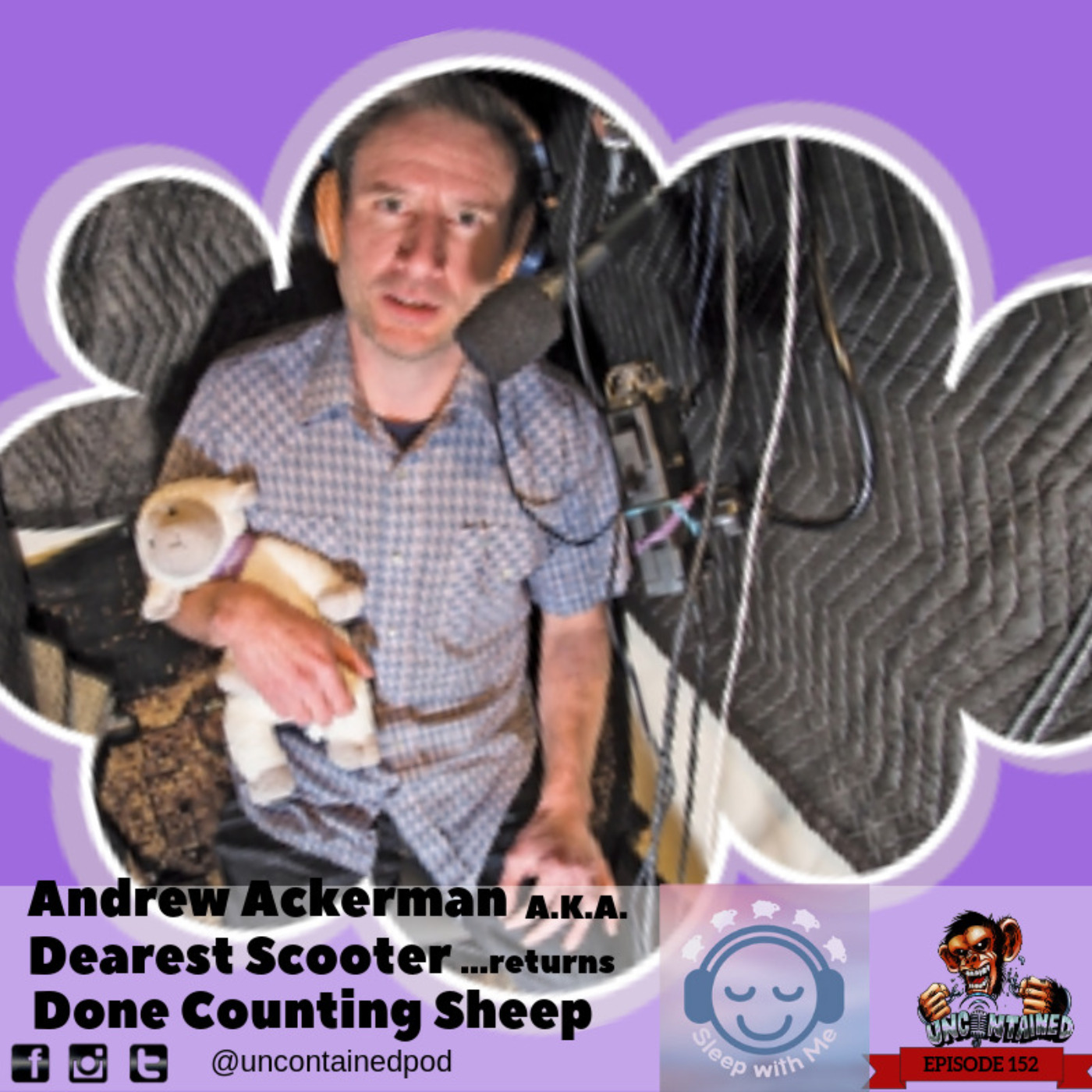Episode 152: Andrew Ackerman A.K.A. Dearest Scooter - Done Counting Sheep