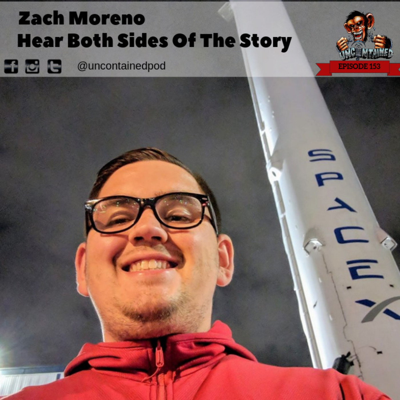 Episode 153: Zach Moreno - Hear Both Sides Of The Story