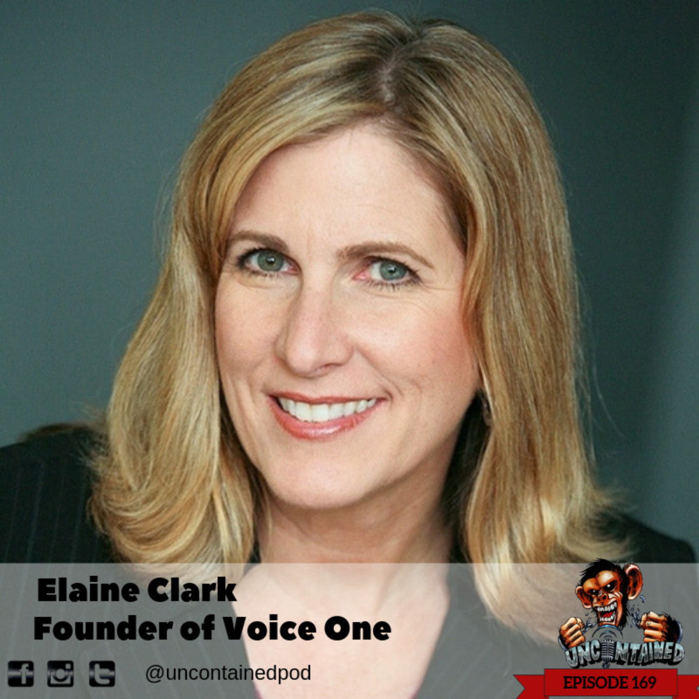 Episode 169: Elaine Clarke -Founder of Voice One