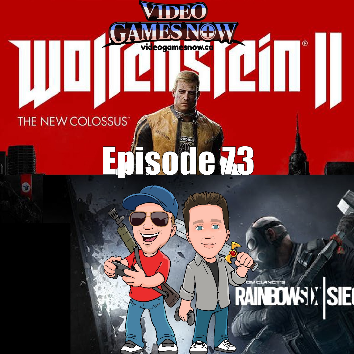 Wolfenstein is AWESOME, and So is Rainbow Six Seige.. And Flying