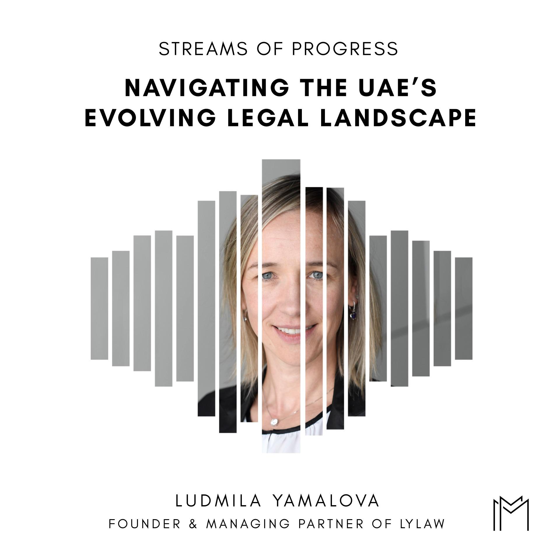 Ep026 - Ludmila Yamalova, Managing Partner at LYLaw
