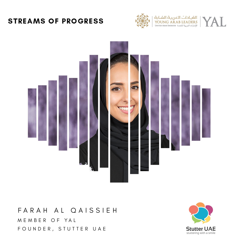 YAL - Farah Al Qaissieh, Founder of Stutter UAE