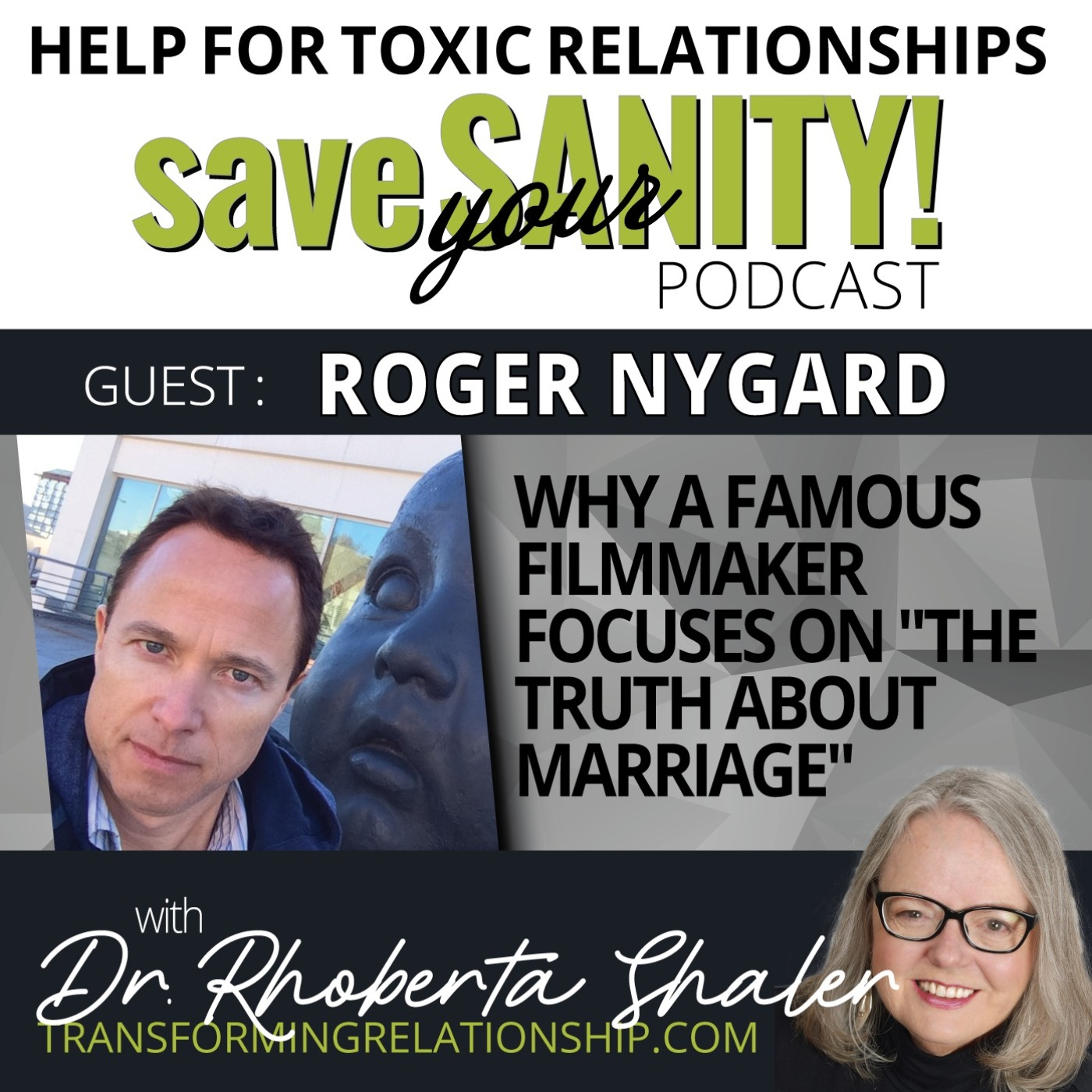 """Why A Famous Filmmaker Focuses On """"The Truth About Marriage""""  Guest: ROGER NYGARD"""