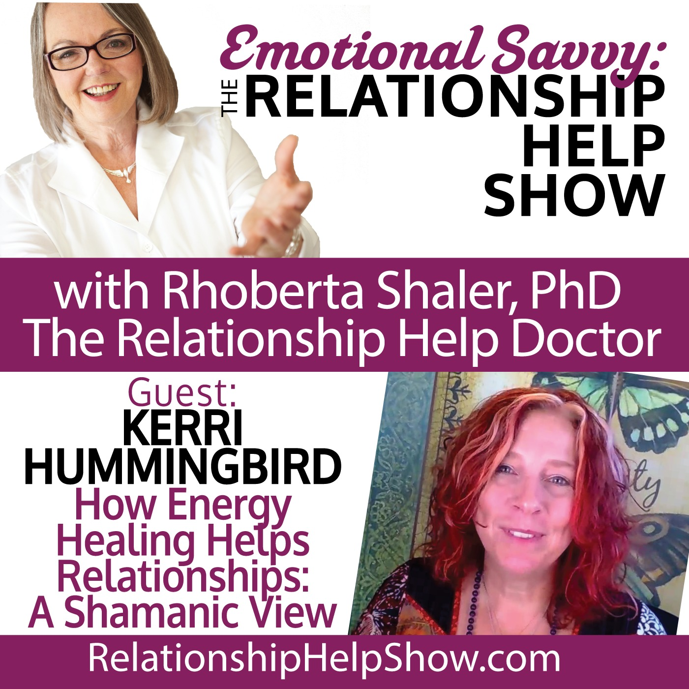 What is Emotional Savvy & Using it to Heal Relationships Energetically GUEST: Kerri Hummingbird
