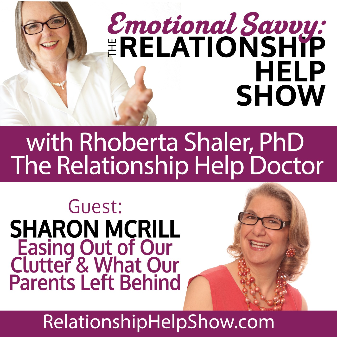 Easing Out of Our Clutter & What Our Parents Left Behind  GUEST: Sharon McRill