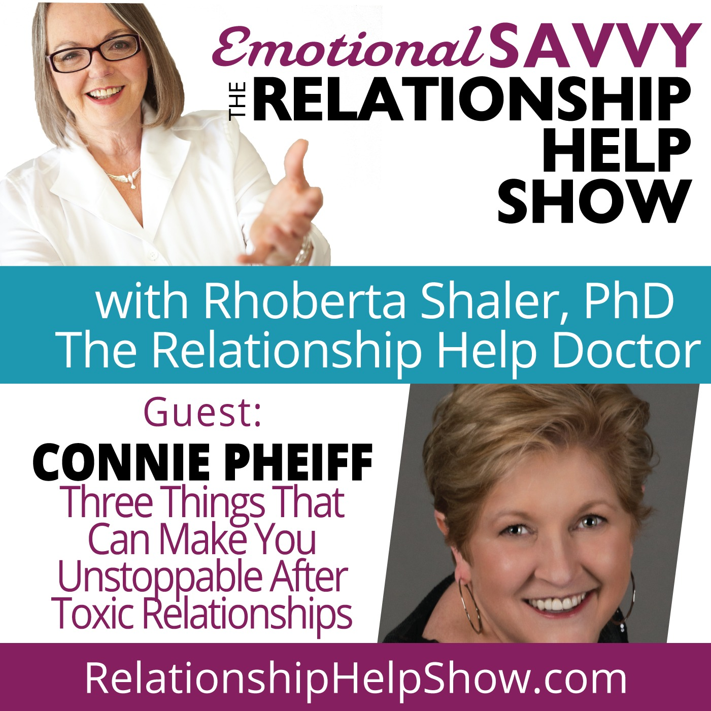 3 Shifts That Can Make You Unstoppable After Toxic Relationships  GUEST: Connie Pheiff
