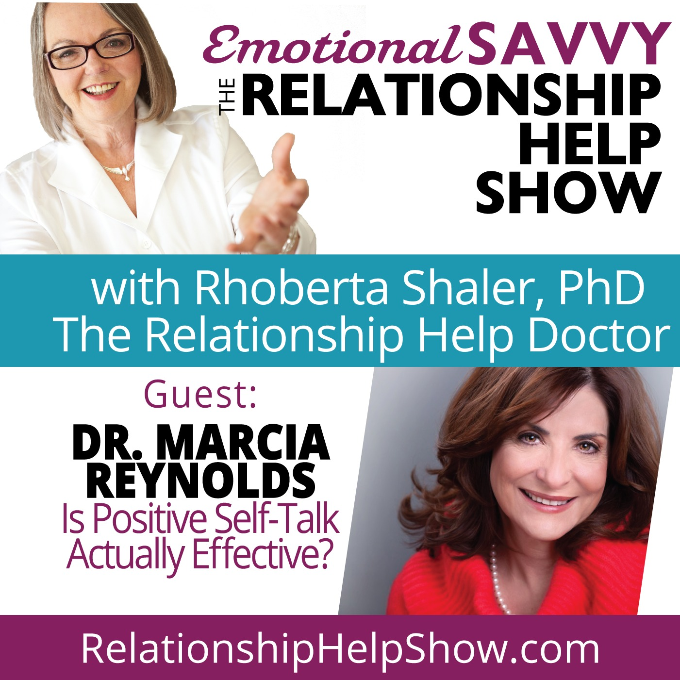Is Positive Self-Talk Actually Effective? Brain Stuff!  GUEST: Dr. Marcia Reynolds