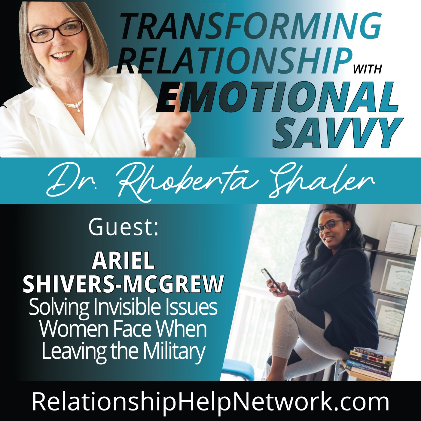 Solving Invisible Issues for Women Leaving the Military  GUEST: Ariel Shivers-McGrew