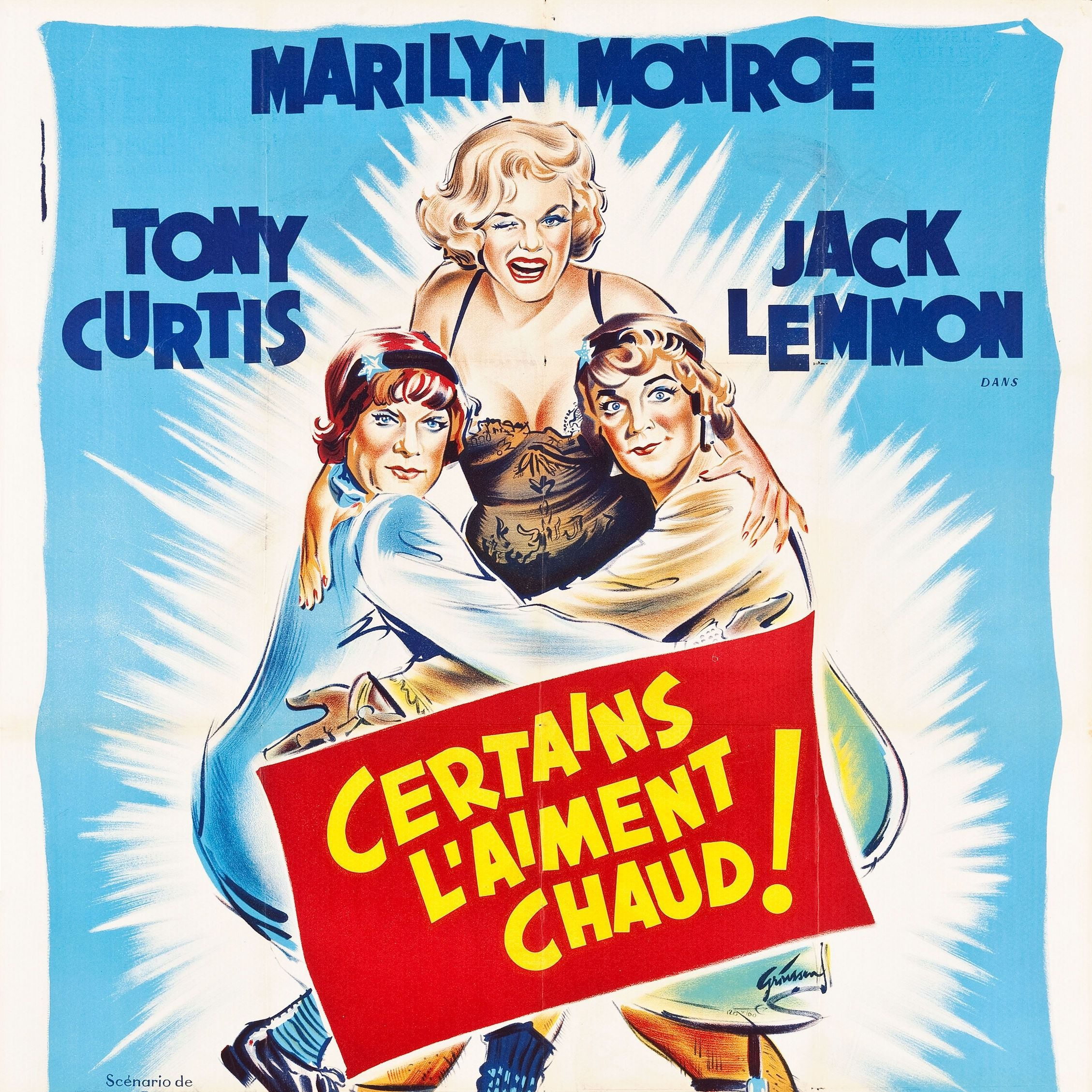 PODCAST CINE | Critique du film CERTAINS L'AIMENT CHAUD ! / SOME LIKE IT HOT !