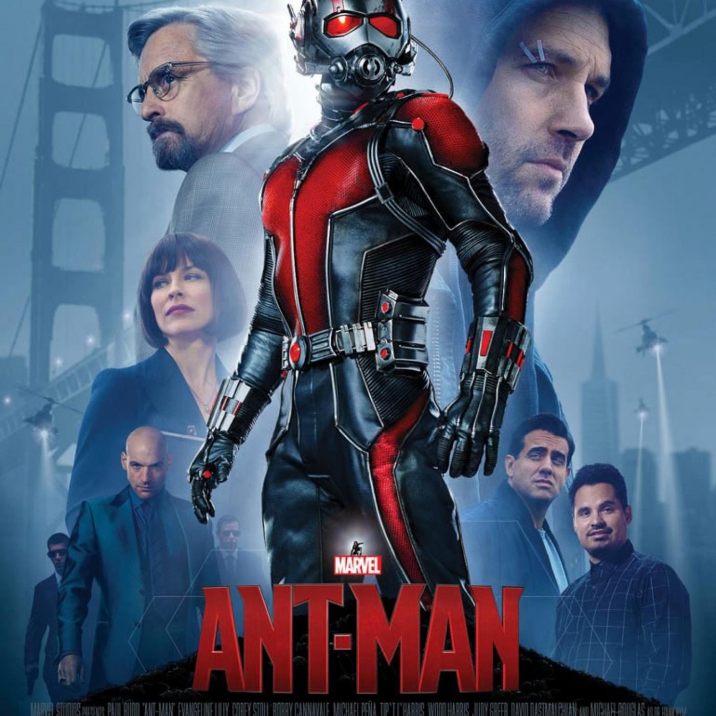 Critique du film ANT-MAN | Saga Marvel