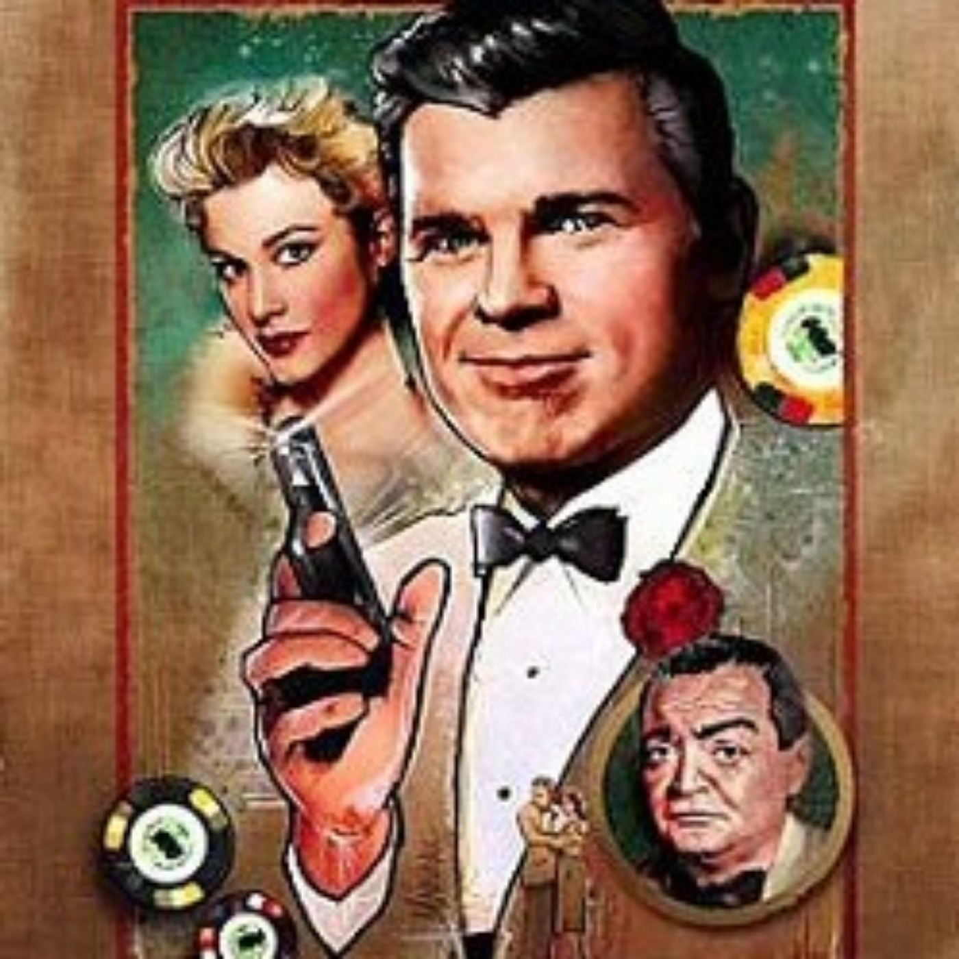 James Bond : Casino Royale version Climax 1954