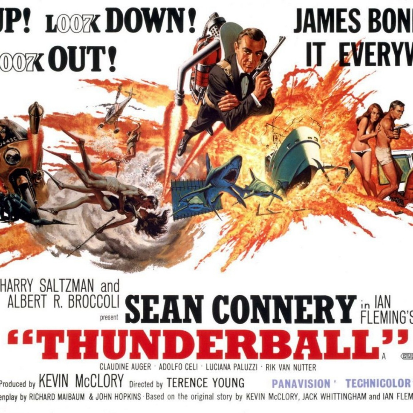 PODCAST CINEMA   Critique du film Opération Tonnerre   Saga James Bond #6   CinéMaRadio