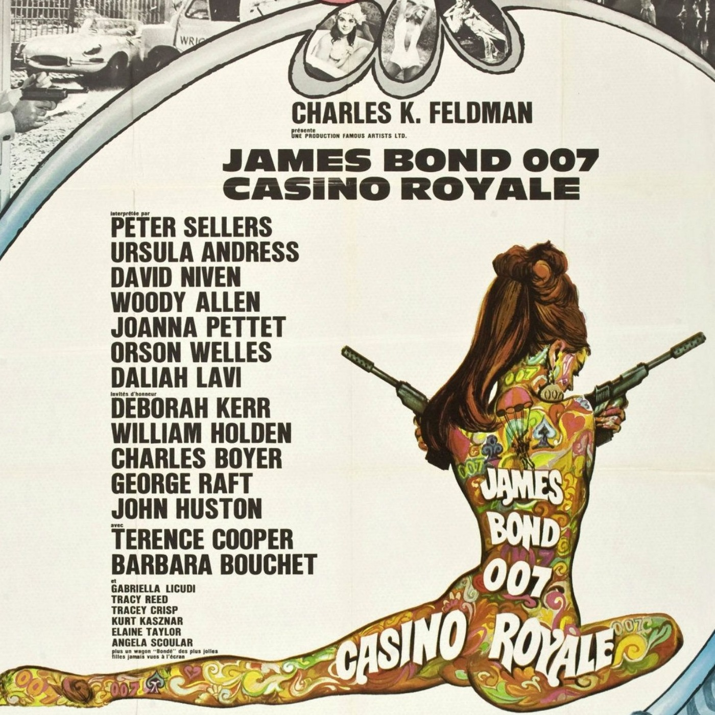 PODCAST CINEMA | critique du film JAMES BOND CASINO ROYALE (1967) | CinéMaRadio