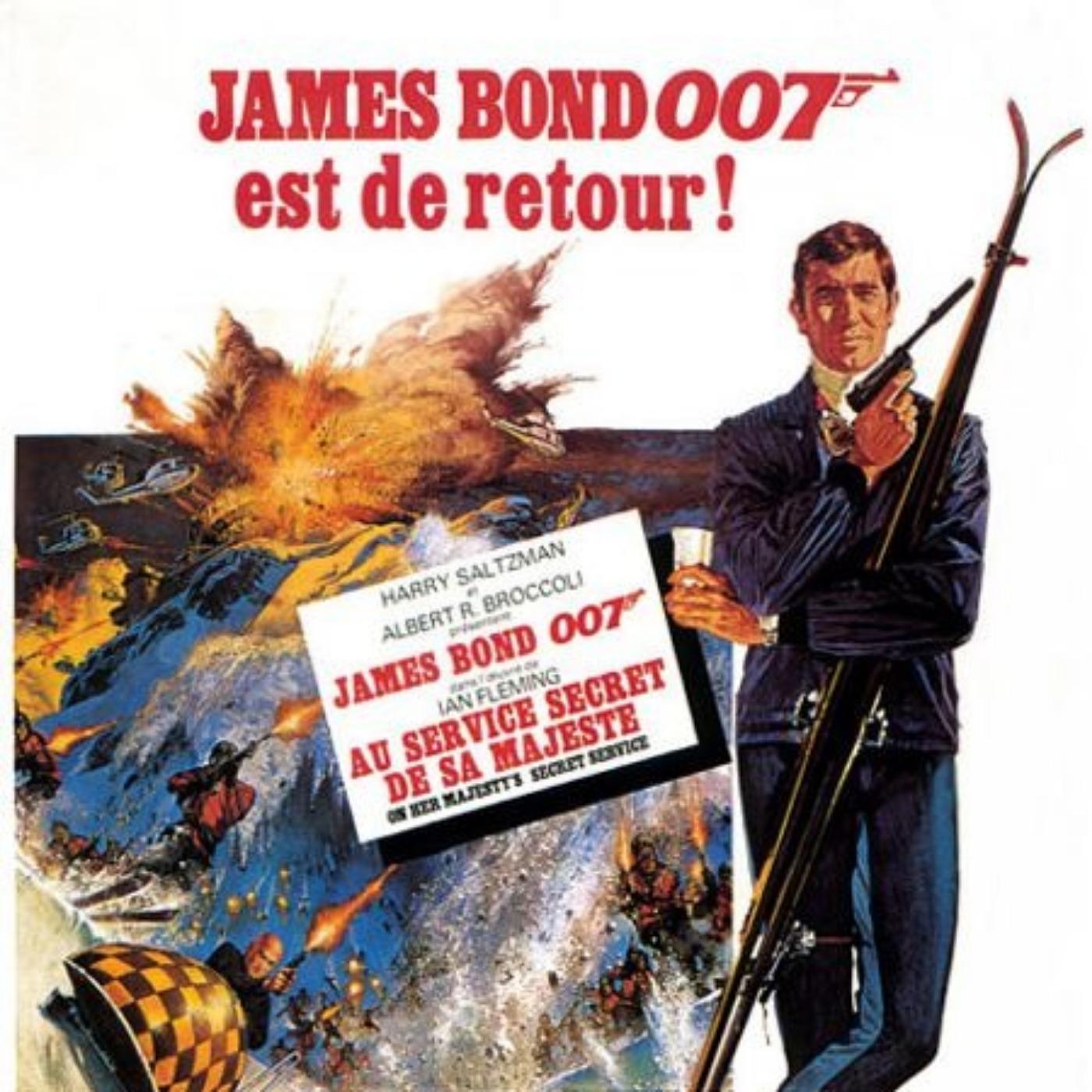 PODCAST CINEMA   critique du film AU SERVICE SECRET DE SA MAJESTE   Saga James Bond #8