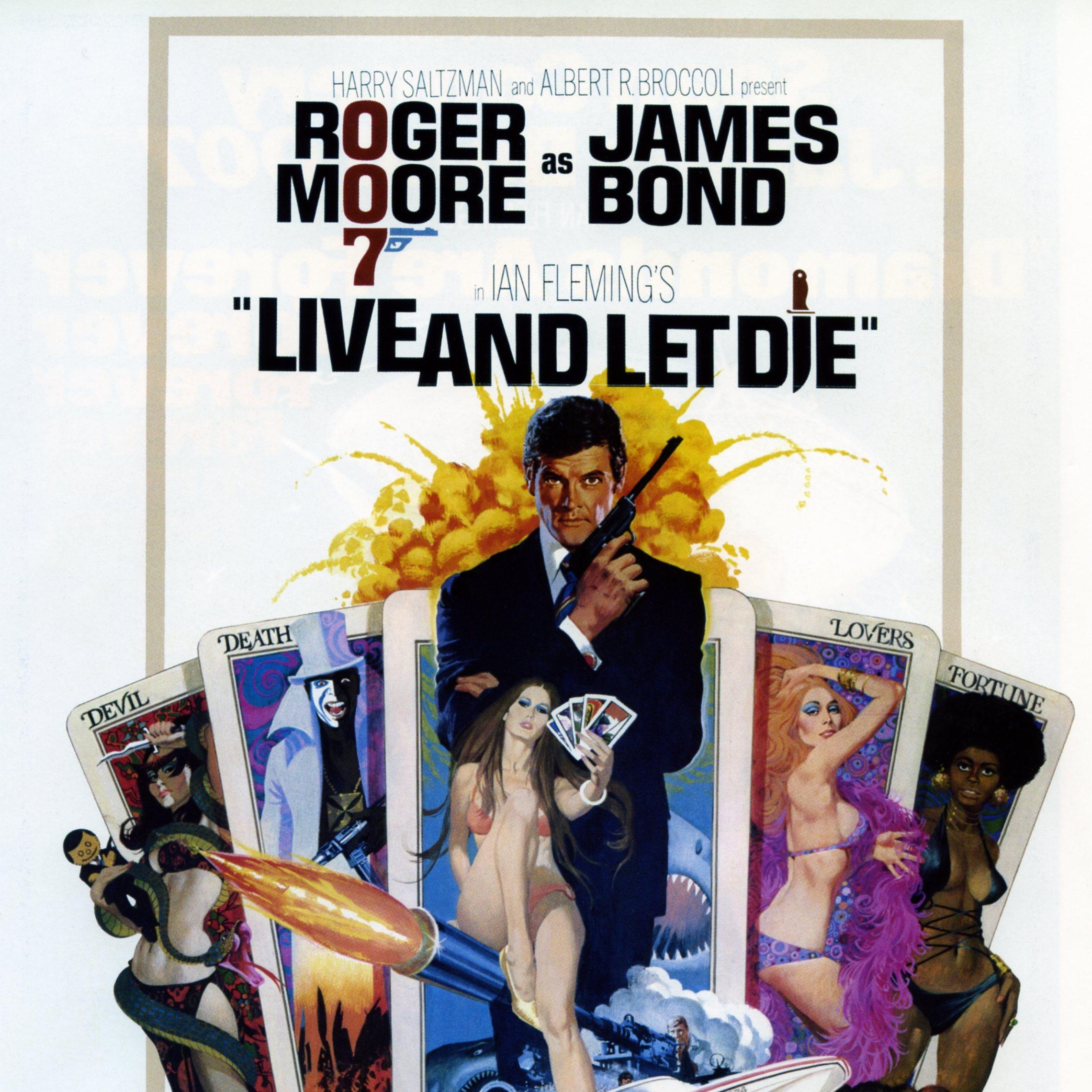 SAGA JAMES BOND   CRITIQUE DU FILM LIVE AND LET DIE / Vivre et Laisse Mourir   CinéMaRadio