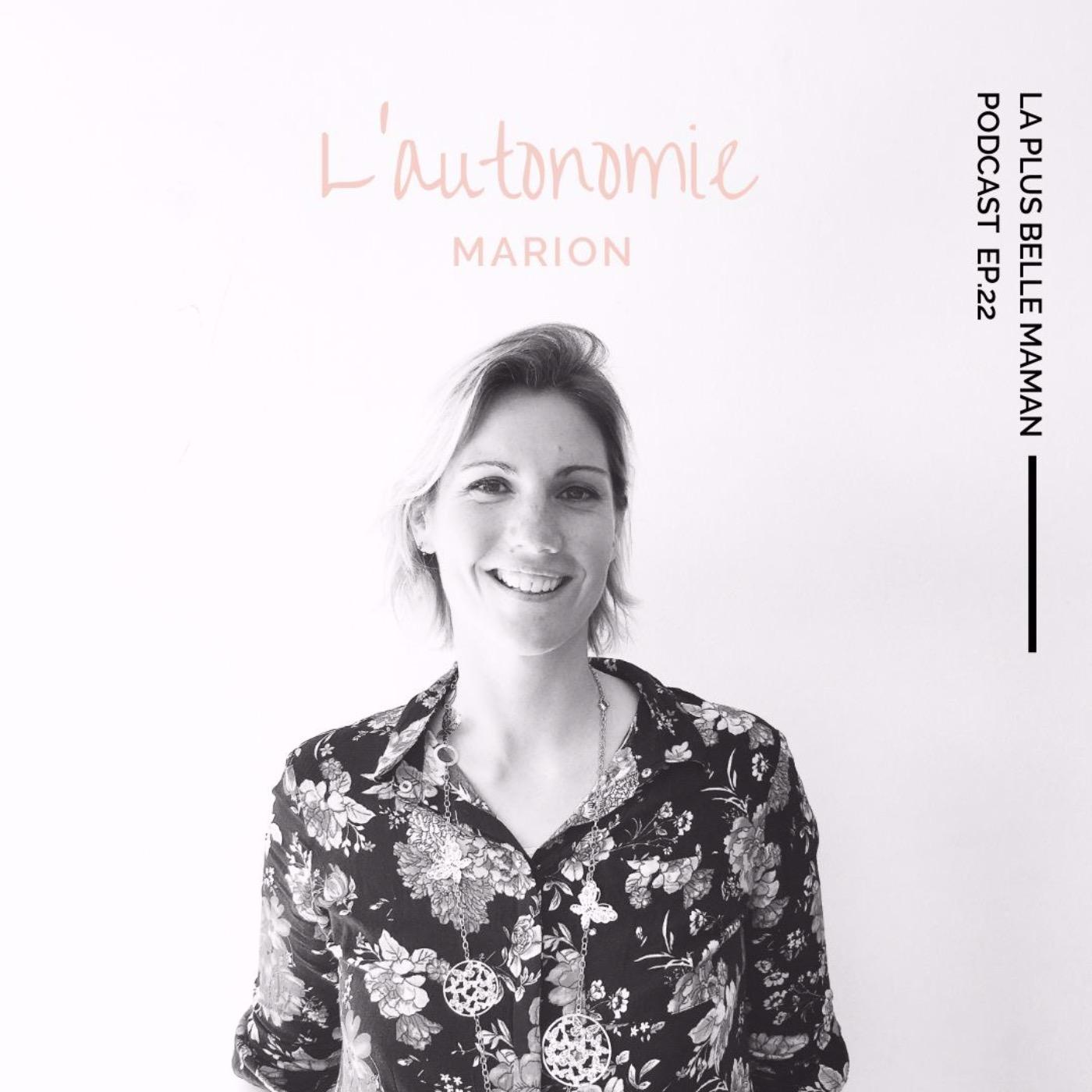 L'autonomie chez l'enfant avec Marion de Montessori à la maison