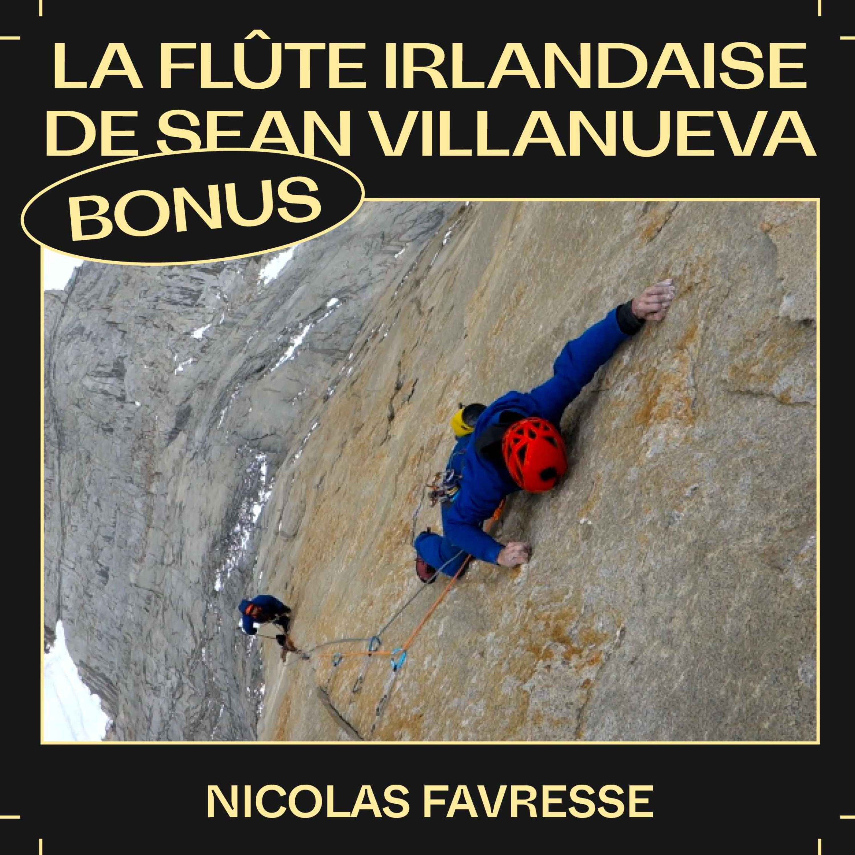 Bonus EP44 — La flûte irlandaise de Sean Villanueva, avec Nicolas Favresse