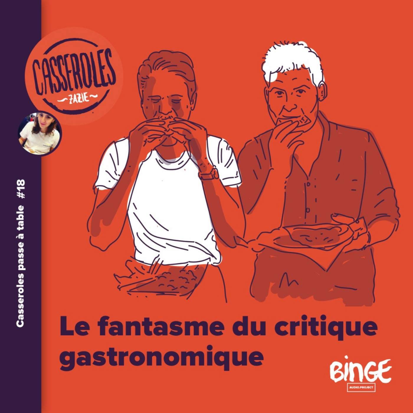 A table - Le fantasme du critique gastronomique