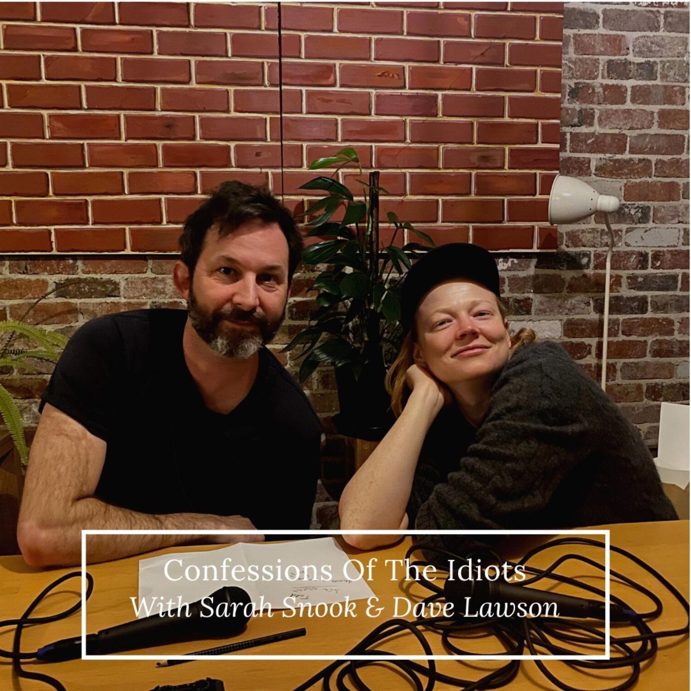 Sarah Snook and Dave Lawson
