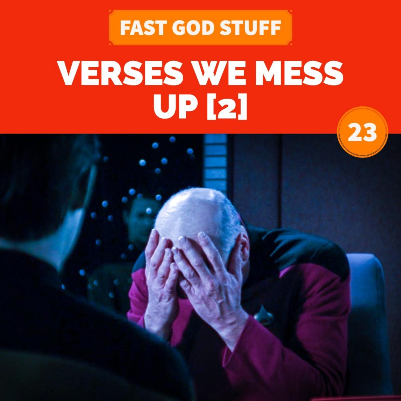 Verses We Mess Up [2]