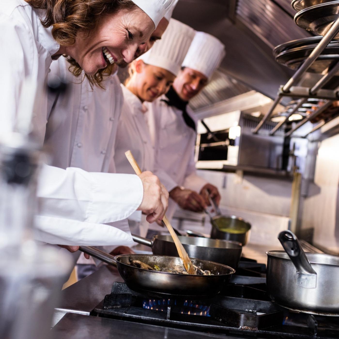 Utdannet som kokk