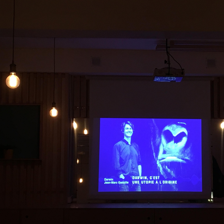 Apéro-Podcast à la Maison Montreau - Débat sur Darwin et les friches