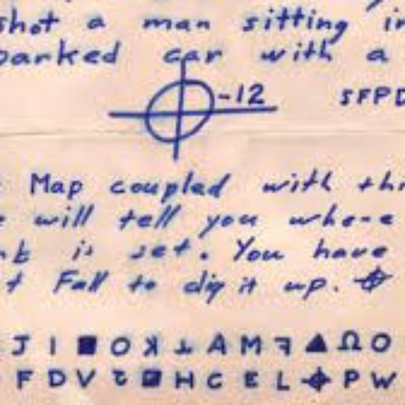 ZODIAC KILLER LETTERS ROUNDTABLE DISCUSSION