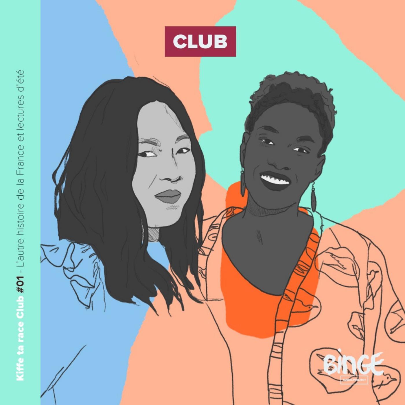 Kiffe ta race Club #01  - L'autre histoire de la France, le racisme dans le porno et lectures d'été