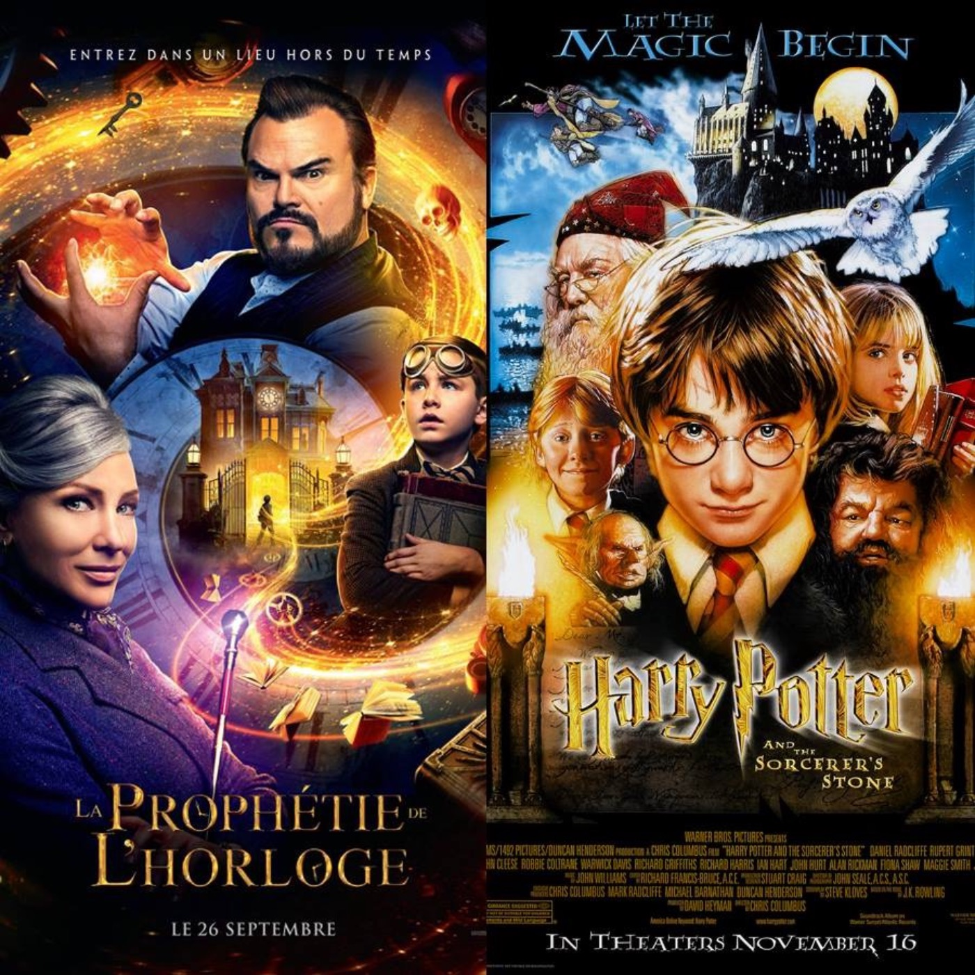 #17 LA PROPHÉTIE DE L'HORLOGE et HARRY POTTER : Magic System
