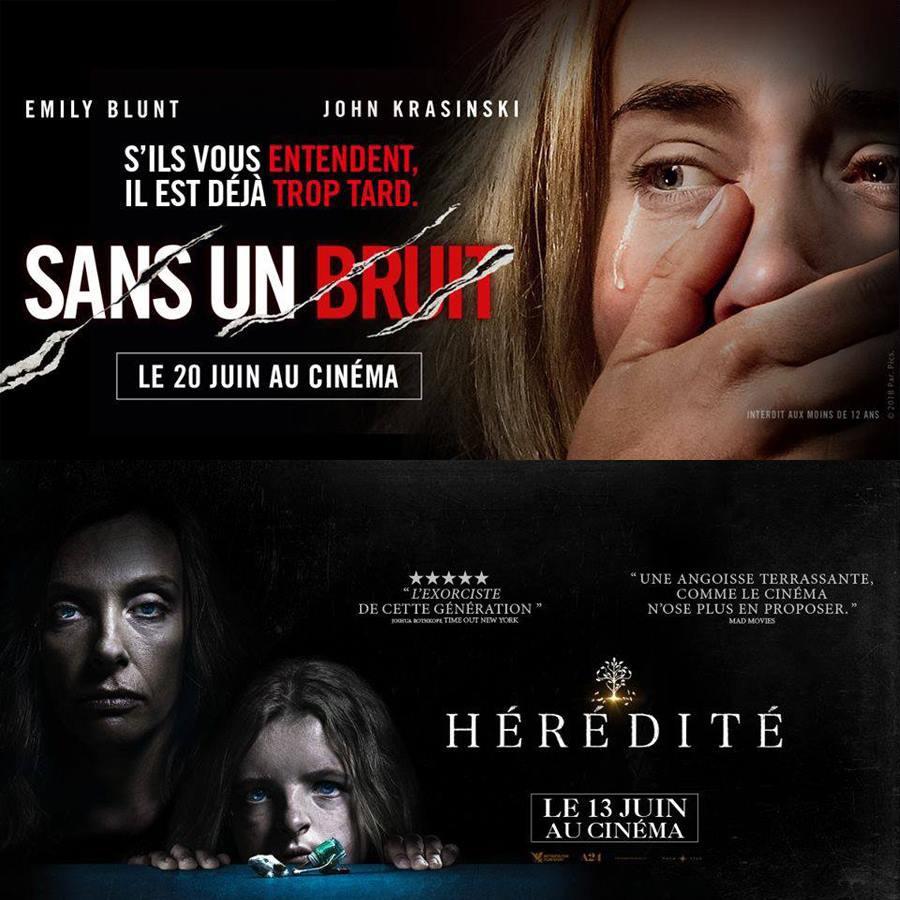 #14 SANS UN BRUIT et HÉRÉDITÉ : Chérie fais-moi peur !