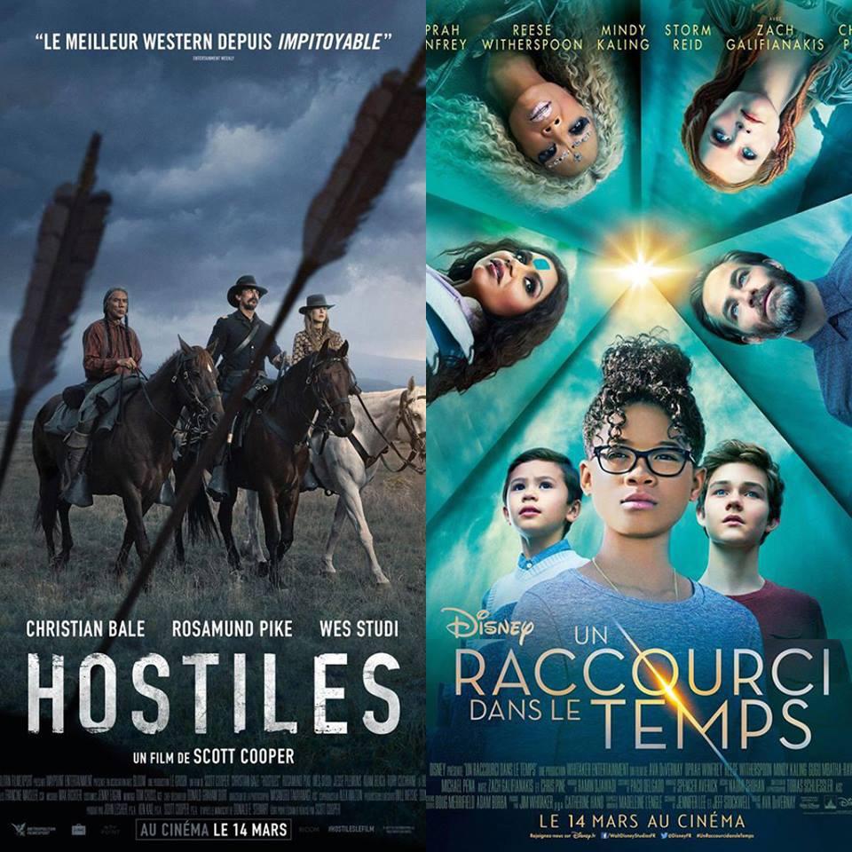 #04 HOSTILES et UN RACCOURCI DANS LE TEMPS : Un Western... et un film à l'Ouest