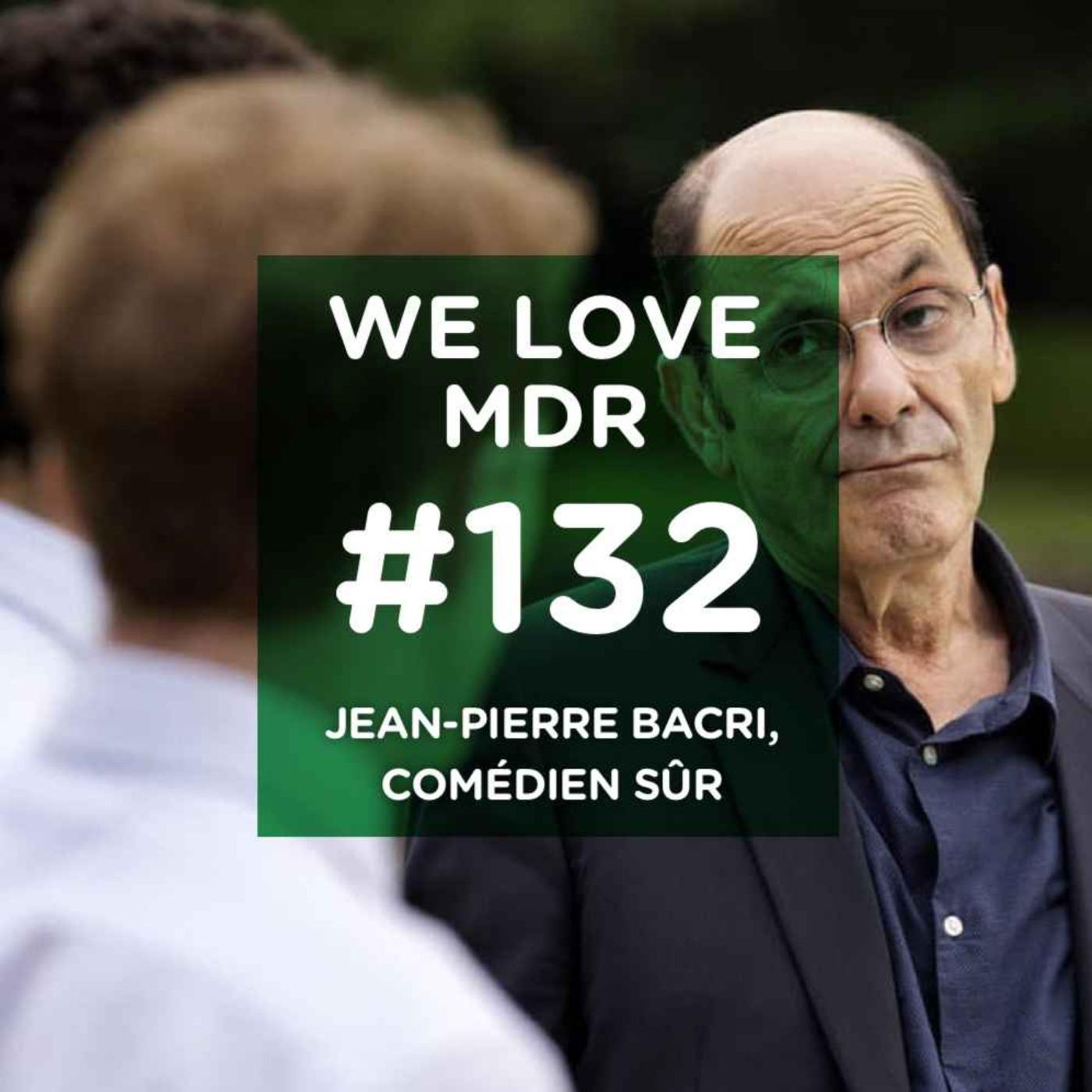Jean-Pierre Bacri, comédien sûr