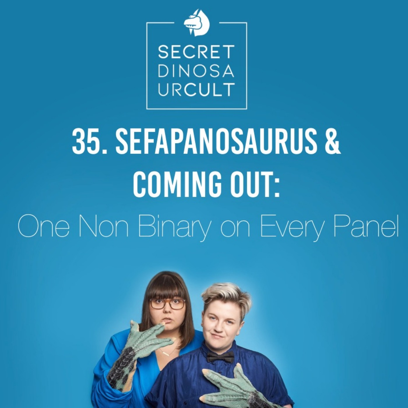 Sefapanosaurus & Coming Out: One Non Binary on Every Panel