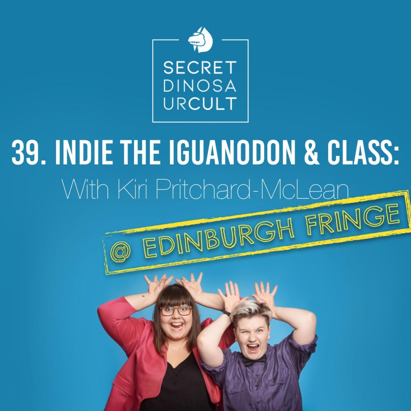 Indie the Iguanodon & Class with Kiri Pritchard-McLean