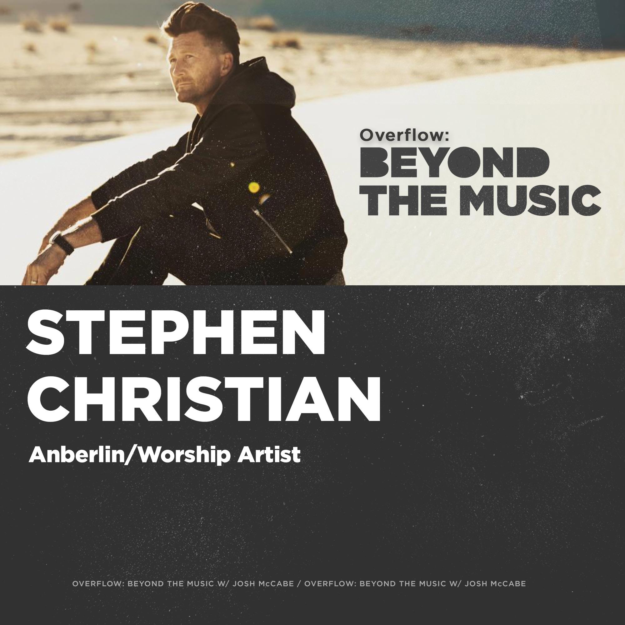 Anberlin's Stephen Christian