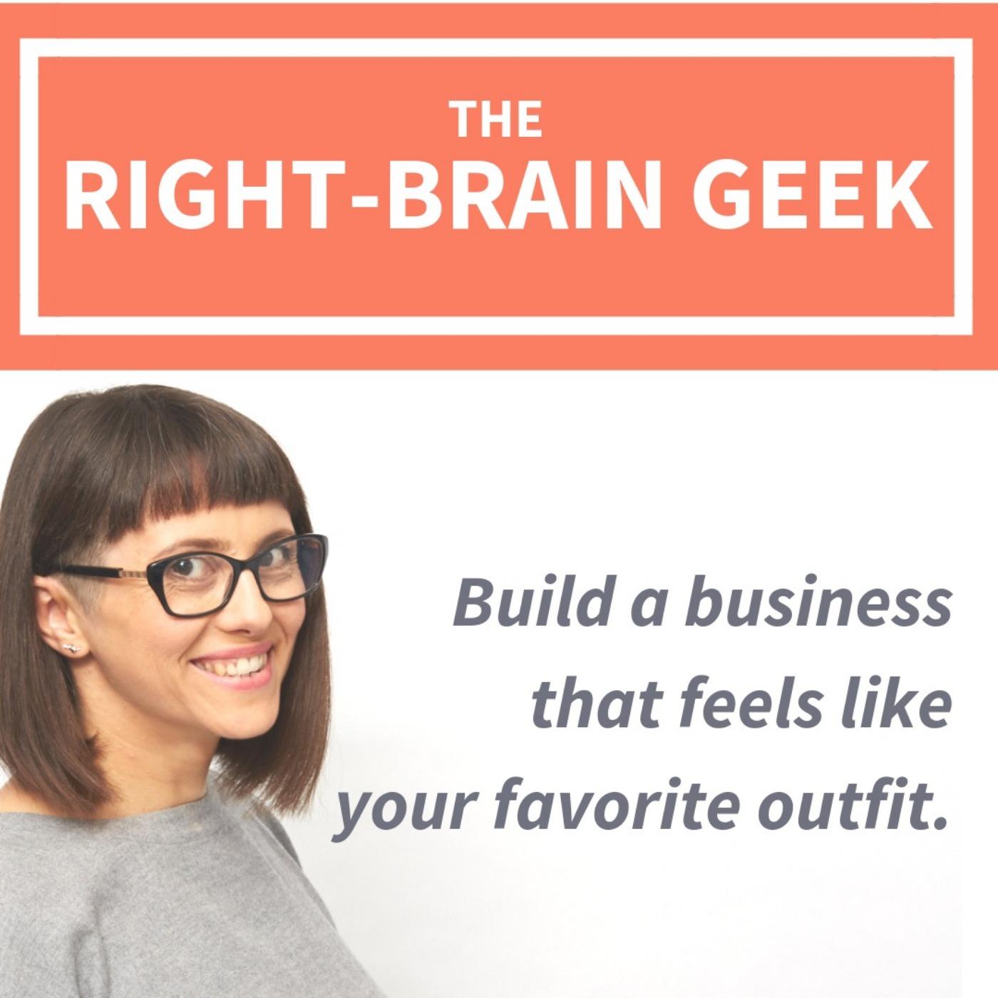 The Right-Brain Geek