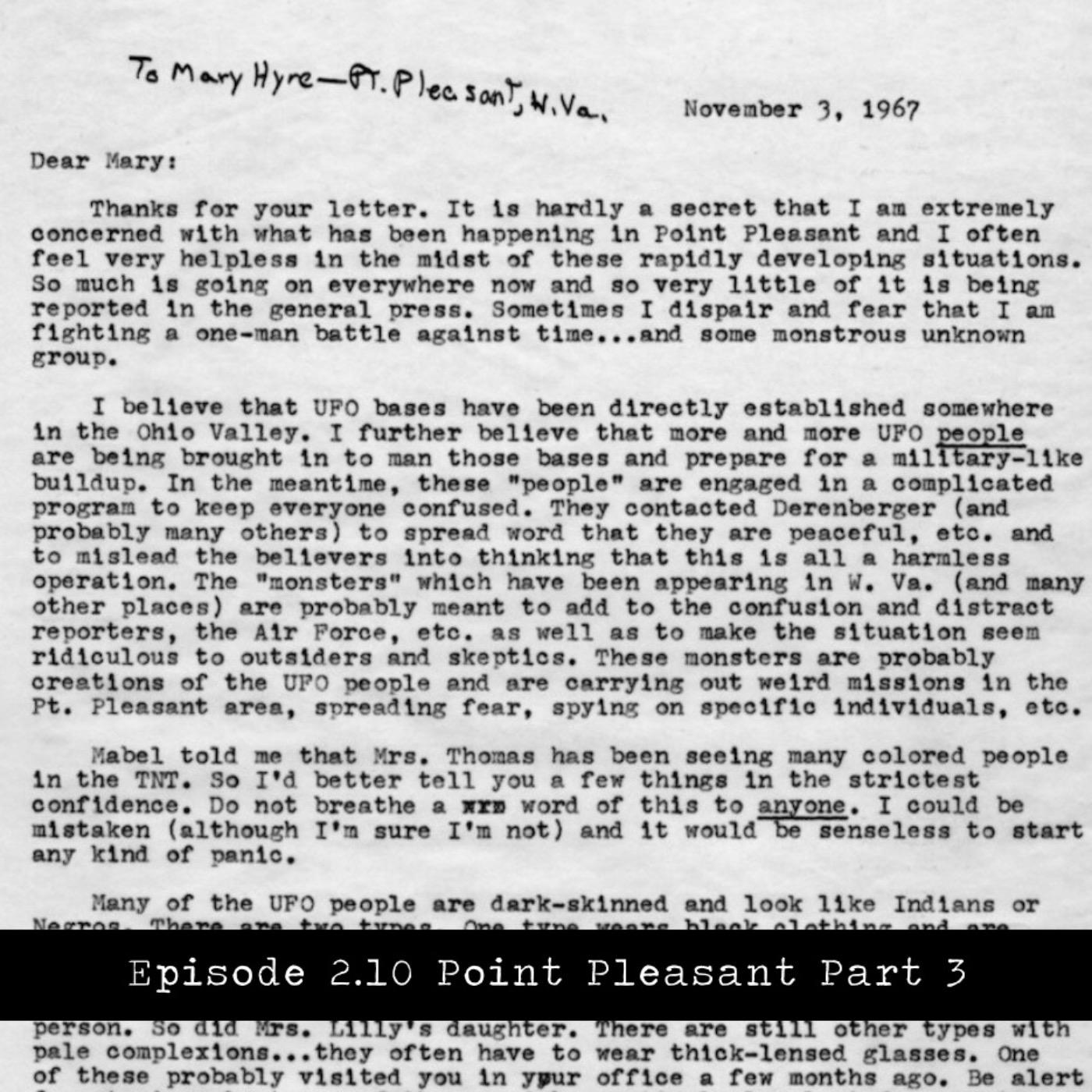 Point Pleasant, WV Part 3
