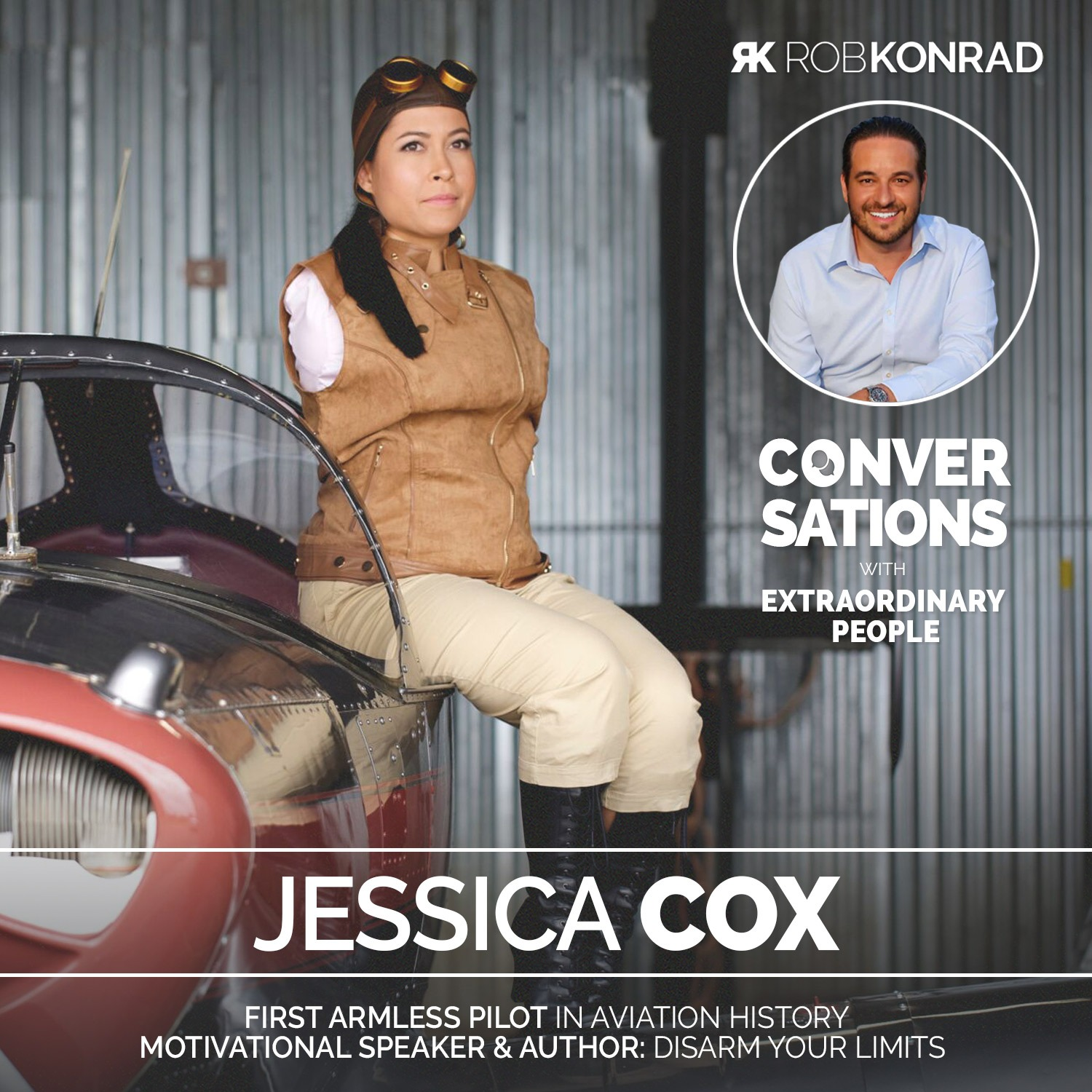 005. The World's First Pilot Born Without Arms: Jessica Cox