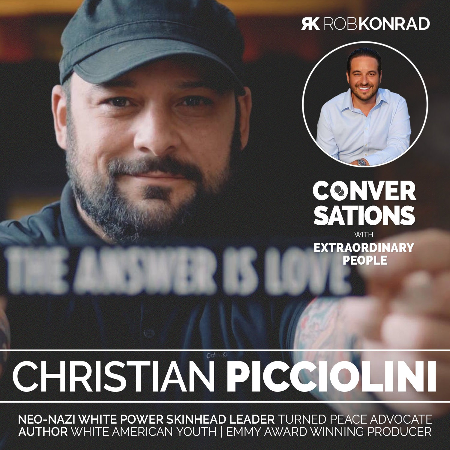 002. From Neo-Nazi Leader To Peace Advocate: Christian Picciolini