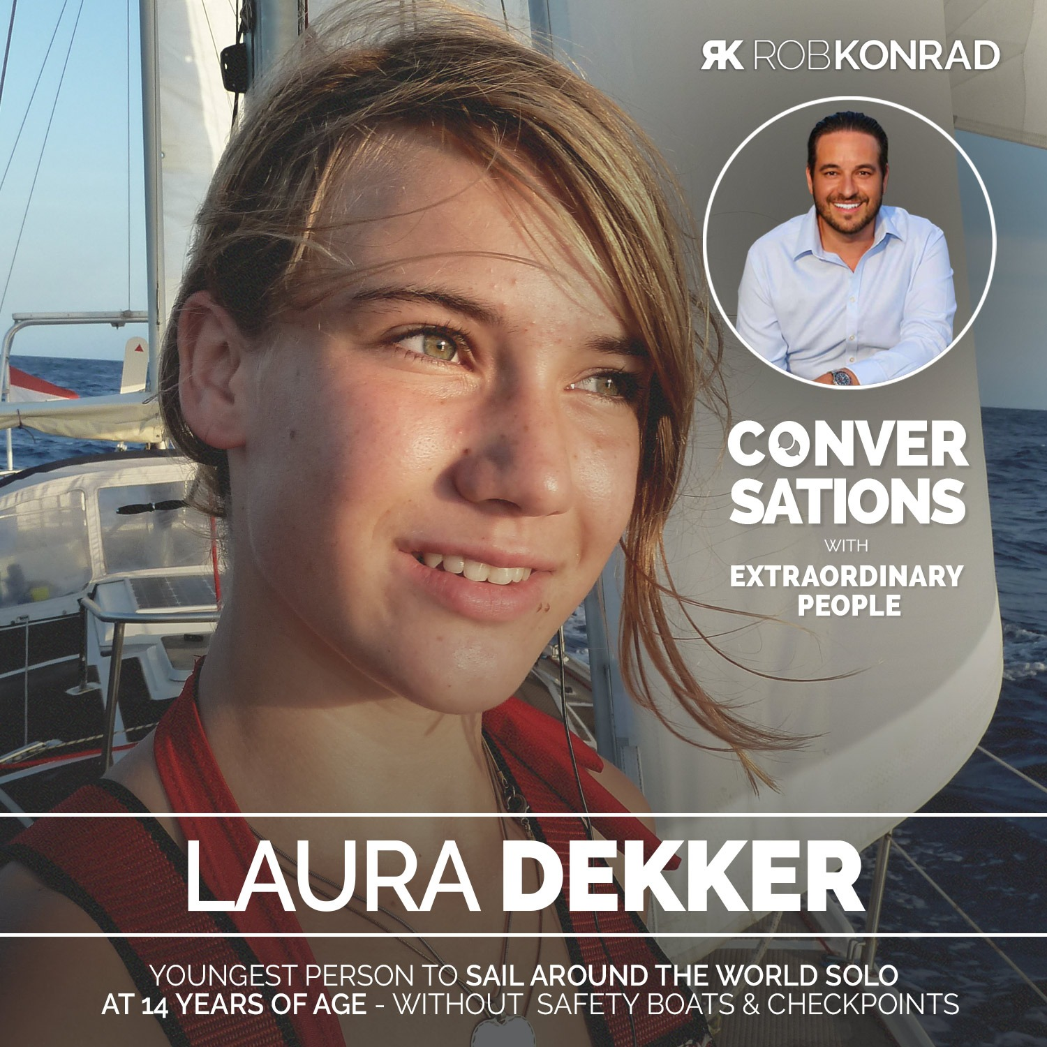 011. The Youngest Person To Solo Sail Around The World: Laura Dekker