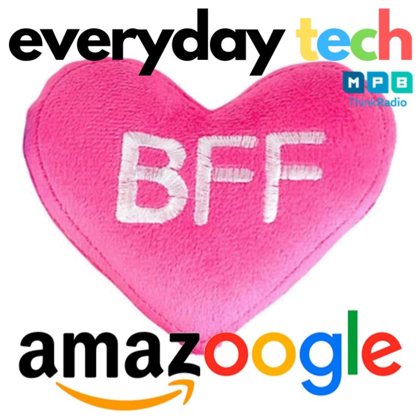 #SoInLove!!! Amazon + Google = <3 <3 <3