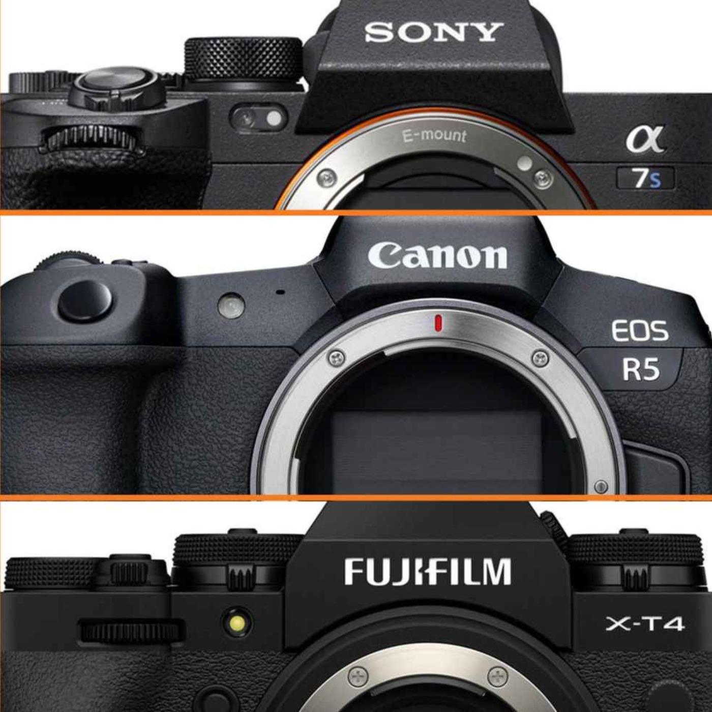 Høydepunkter fra 2020 - Canon R5, Sony A7S III, Fujifilm X-T4 +++