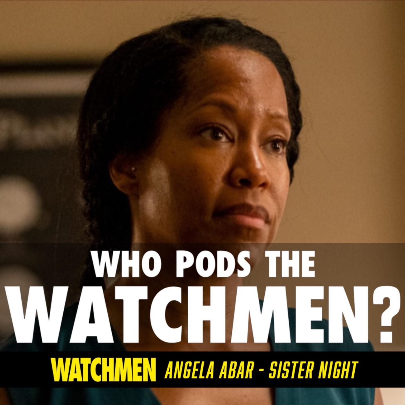 Watchmen Angela Abar/Sister Night Character Study