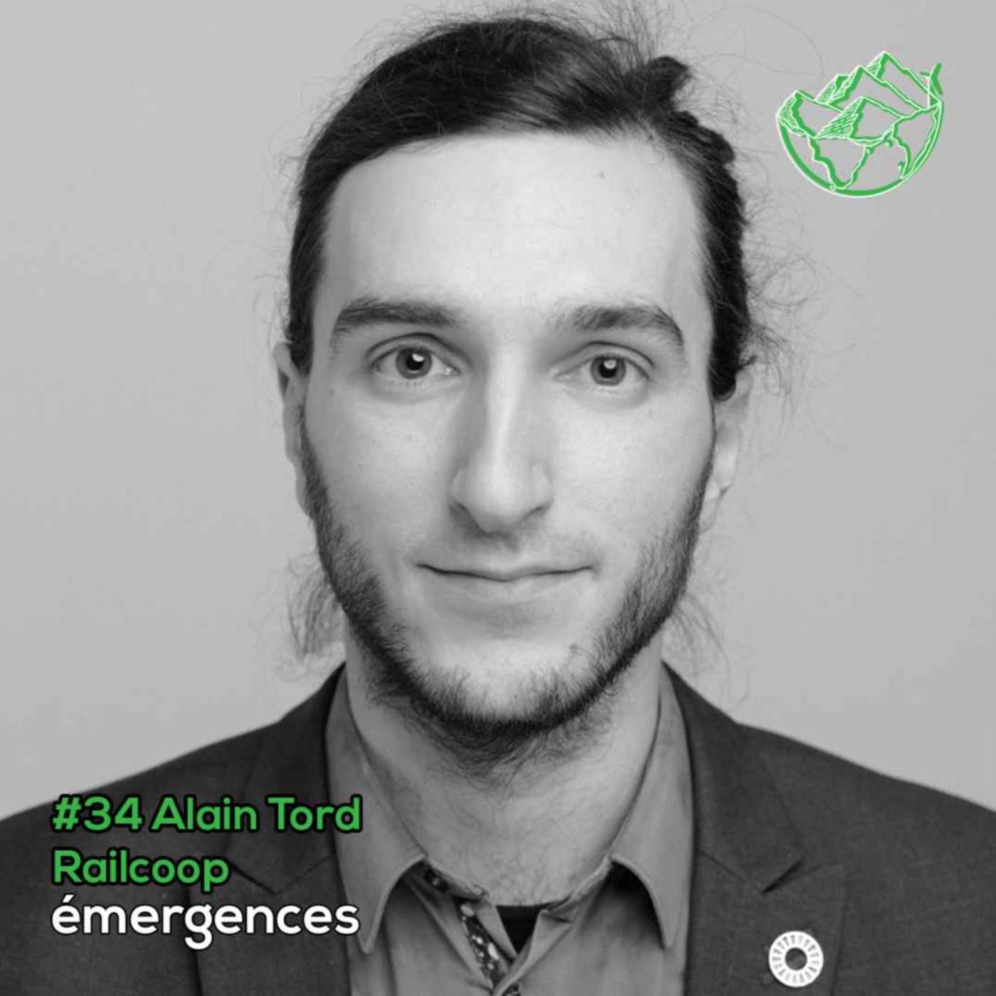 Emergences#34 – Alain Tord – Railcoop - Du monde associatif étudiant à administrateur d'une coopérative ferroviaire