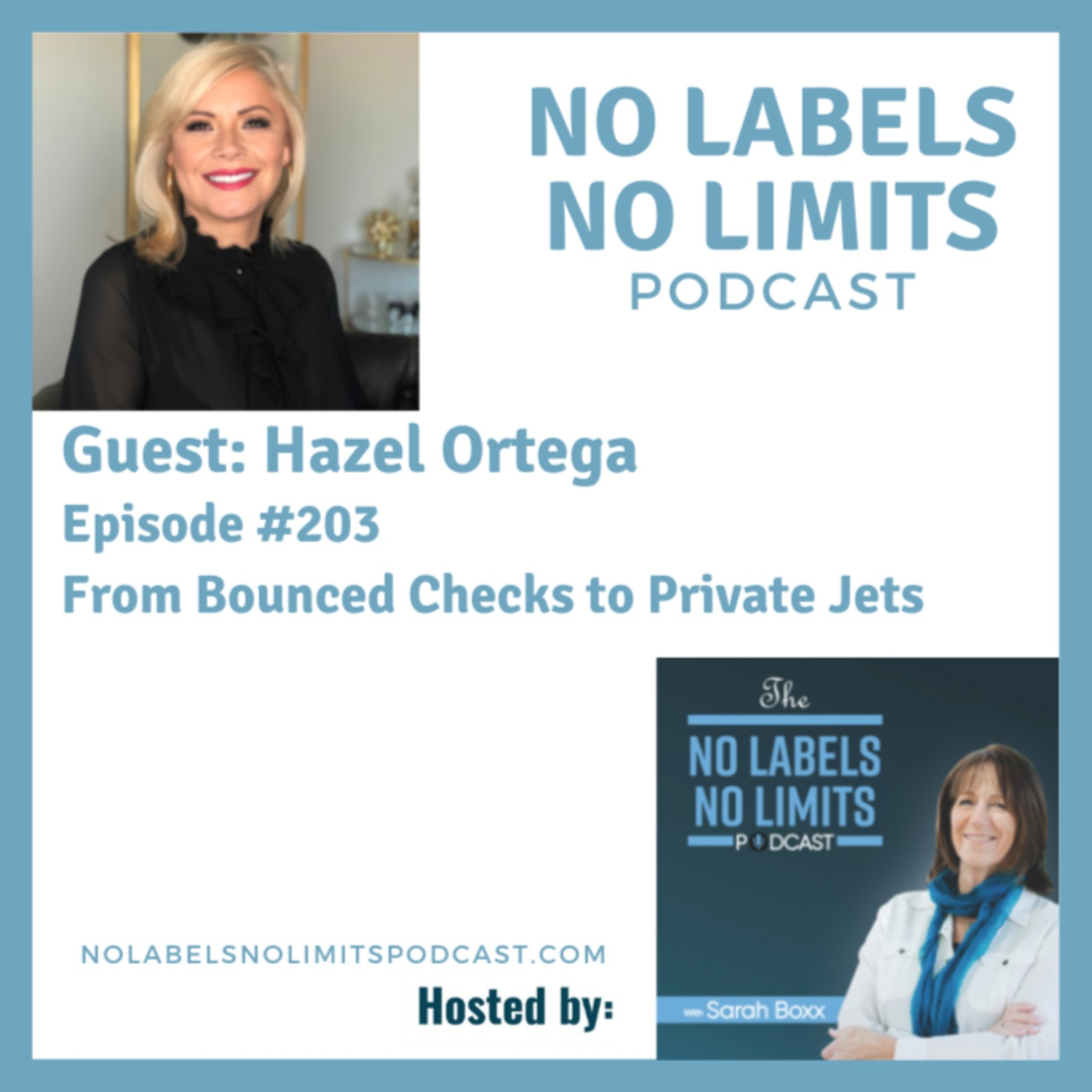 203 - From Bounced Checks to Private Jets with Hazel Ortega