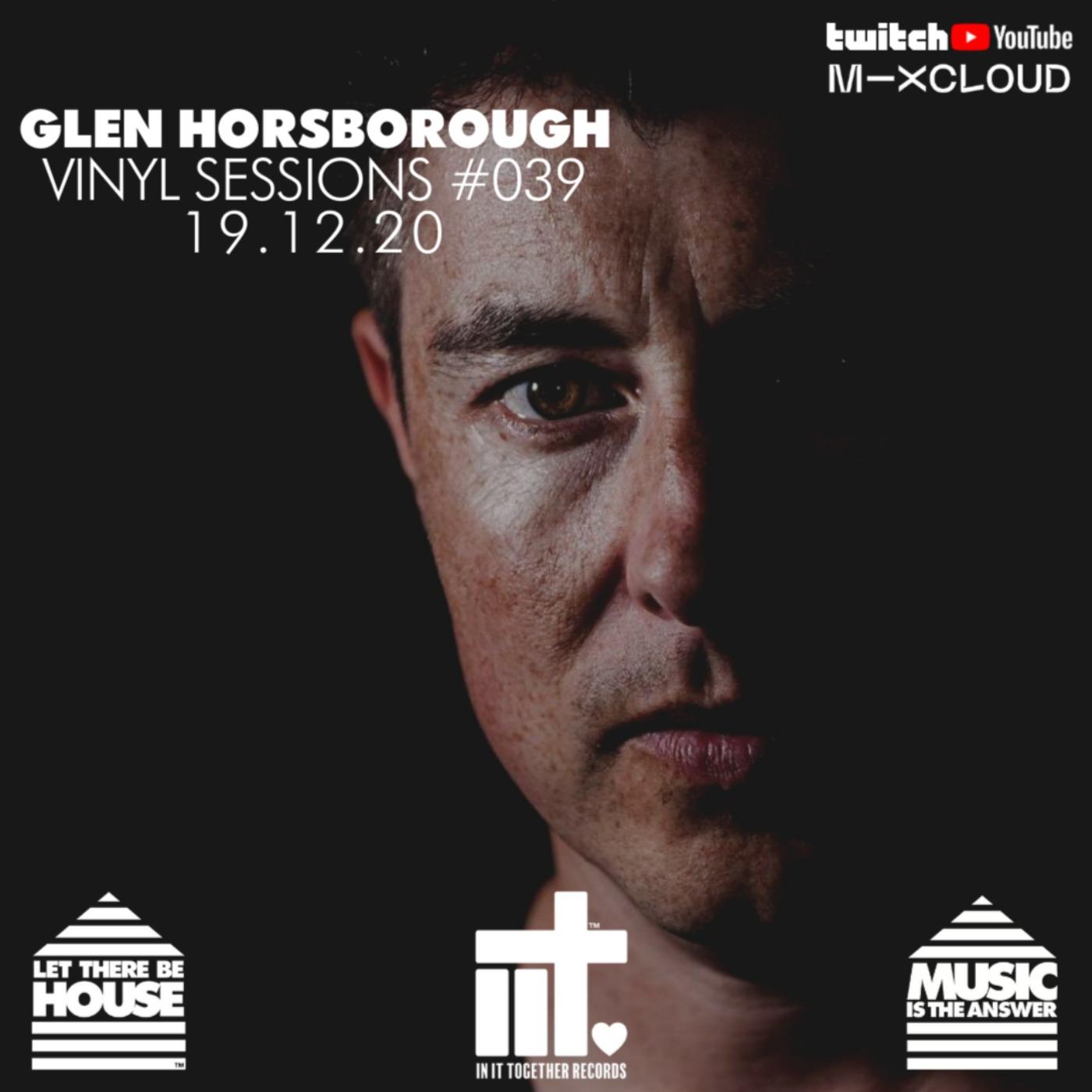 Glen Horsborough Vinyl Sessions #039